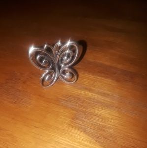 James avery butterfly ring (retired)